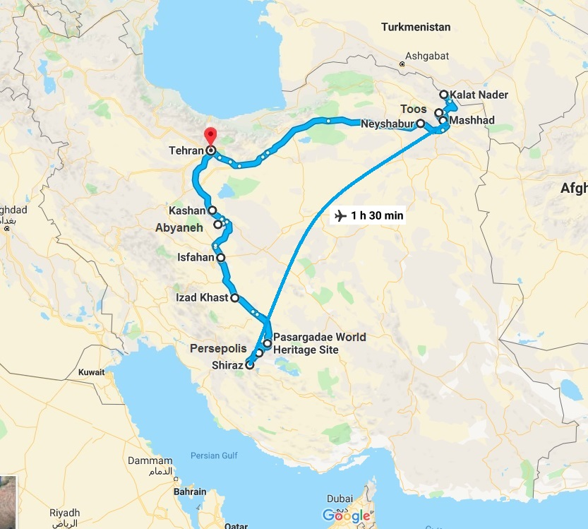 Spiritual Journey to Persia